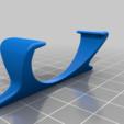 roku_remote_stand.png Télécharger fichier STL gratuit Stabilisateur à distance Roku • Plan à imprimer en 3D, TooMuchFilament