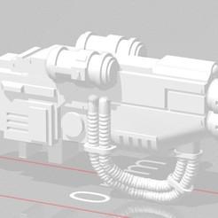 Download free STL file Javelin Land Speeder Multi Melta (pintle mounted)  • 3D printer template, DarkApostle