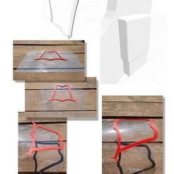 "montage sourire visière.jpg Download free STL file Smile ""leisure"" visor • 3D printing model, creations-jmica"