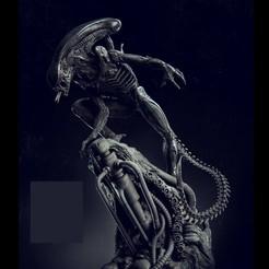 Descargar archivo 3D gratis Alien, ericsira3011