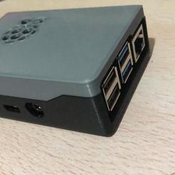 rasp3.jpg Download free STL file Case Raspberry pi 4 b • Design to 3D print, domincdoom