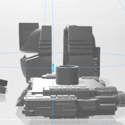 rf.PNG Download 3MF file transformer Soundwave testa with base appoggio componibile • Template to 3D print, cucciolo28l