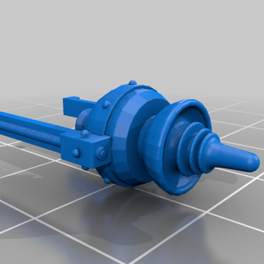c-beamer-barrel-sort-of.png Download free STL file Guardian Armor Conversion Inator • 3D printable model, PeCeT