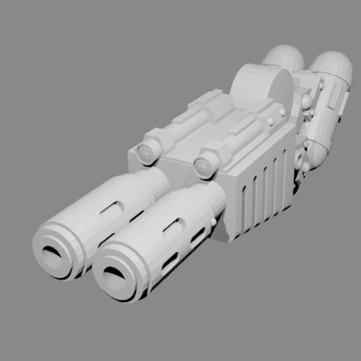 Descargar diseños 3D gratis Robot Guardián Melta Gun, PeCeT