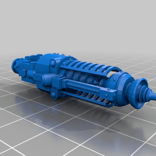 c-beamer-v2.png Download free STL file Guardian Armor Conversion Inator • 3D printable model, PeCeT