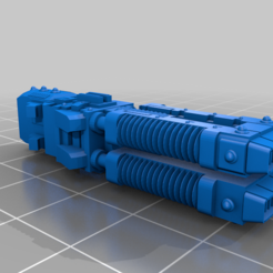 volkite-culverin.png Download free STL file Guardian Robot Vulkite Cannon • 3D print template, PeCeT