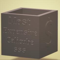 1.PNG Télécharger fichier STL Calicube le plus cher • Objet à imprimer en 3D, francymosca03