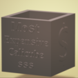 Download 3D model Most Expensive Calicube, francymosca03