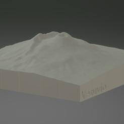 1.PNG Download STL file Vesuvio 3D puzzle • 3D printable object, francymosca03