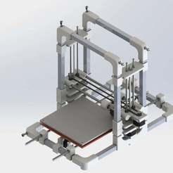 RENDERING_prusa3.JPG Download free STL file Prusa style 3d printer • 3D printable model, not1996