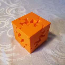 fidget cube.jpg Download STL file Fidget Cube • 3D print template, wildentertainment1
