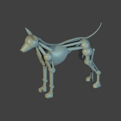 robodog.png Download STL file Toaster Loving Robodog • 3D printer model, Jojoba