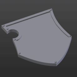 EDIT blason.png Download free STL file Ultra smooth armor pieces for royal chevaliers • 3D printer object, Jojoba