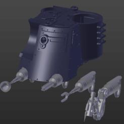 dunecrawler_servo_arm.png Télécharger fichier STL gratuit bras d'asservissement optionnel pour marcheur sur sable • Design pour imprimante 3D, Jojoba