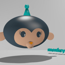 Download free 3D print files monkeyBOT, monkeyBOT