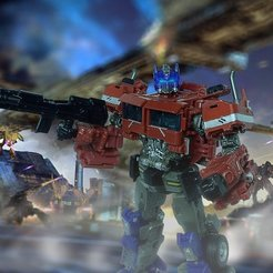 Download free STL file Transformers SS 38 BB Optimus shoulders, AlphaCustomsTF
