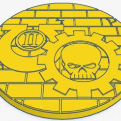 80mm turrent.png Download STL file 80mm Ultra 2nd comp turret base • 3D printing model, Spalla420