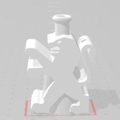 peugeot delante.PNG Télécharger fichier STL peugeot shisa cachimba nozzle • Plan à imprimer en 3D, alexsalavert89