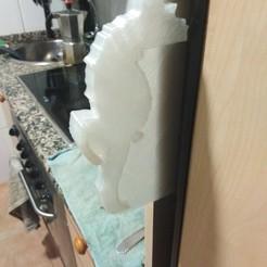 asa0.jpg Download STL file Refrigerator handle • 3D printing template, enterpoetizer_3d