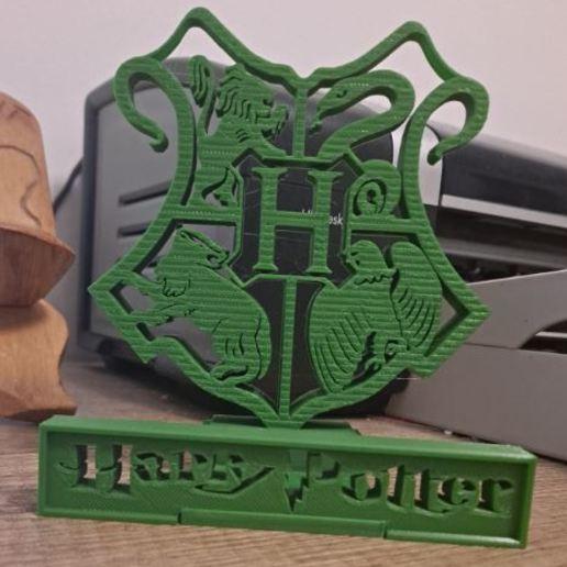 Download free STL file Harry Potter phone stand • 3D printable design, CheesmondN