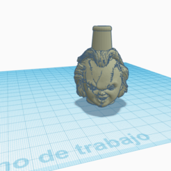 chucky.png Download STL file Shisha Cachimba Chucky Mouthpiece • 3D printable object, Miralles