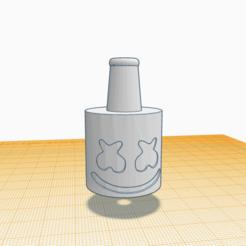 Marshmello.png Télécharger fichier STL Embouchure de Shisha Cachimba Marshmello • Design pour impression 3D, Miralles