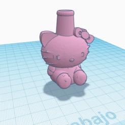 Kitty.png Télécharger fichier STL Embouchure de Shisha Cachimba Hello Kitty • Plan pour imprimante 3D, Miralles