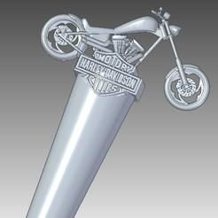 Descargar archivos STL Handle tap Harley Davidson Chopera, tincho_dc