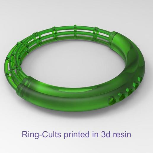 Cults-Ring 5.jpg Download free GCODE file CULTS - RING  (FOR CONTEST #ANYCUBIC3D ) • 3D printable design, Alb3rtoBautista