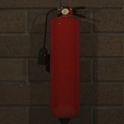 Descargar modelos 3D Extinguisher 3D print model, Sparky17