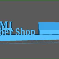 screenShot_Sami_barber_shop.png Download free STL file barber shop • 3D printer object, majidabid1990