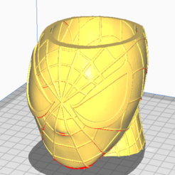 Screenshot_1.png Download free STL file Spiderman Pen Holder • 3D printing template, Kbezzon