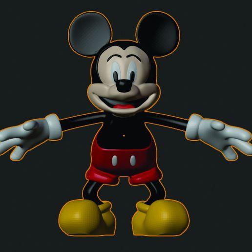 Télécharger fichier STL L'art fantastique de Mikey Mouse, rikardo_francisco