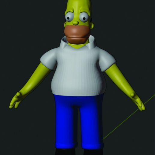 Télécharger objet 3D Homer Simpson : l'art fantastique, rikardo_francisco