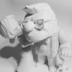 CARL.jpg Download free OBJ file Carl and Ellie (UP) • 3D printer design, exe_gaston