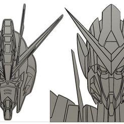 freedom exia.JPG Download STL file Strike freedom gundam /  Exia Gundam 00  • Template to 3D print, 3DEioszd
