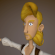 Download 3D printer templates Guybrush Threpwood, ericpr23