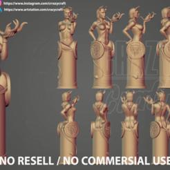 Descargar diseños 3D Devils Kiss Modelo de impresión en 3D, CrazyCraft