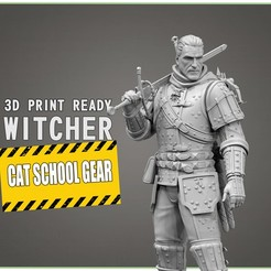 witcher-3d-print-stl-model-fdm-pla-sls-3dprinting-000000001.jpg Download STL file The Witcher - Cat School Gear 3D print model • 3D print model, CrazyCraft