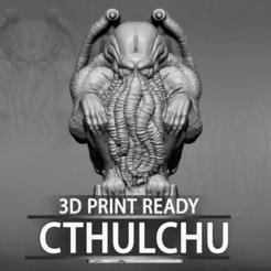 Impresiones 3D Modelo 3D de Cthulhu, CrazyCraft