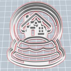 Download STL file Winter Cookie cutters  • Design to 3D print, 3dprintcc