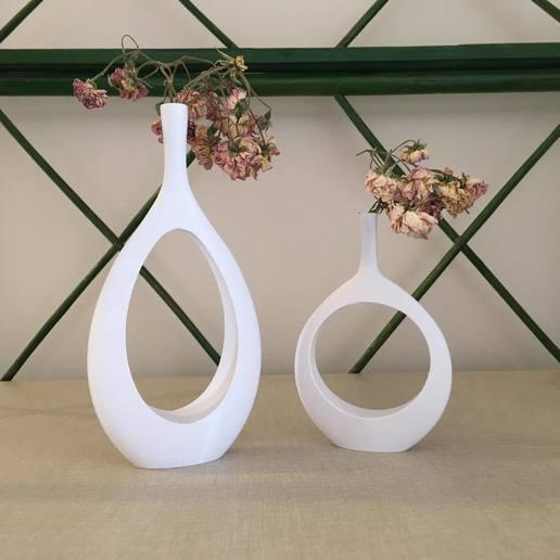 Descargar archivo 3D Jarrón para decoración del hogar, interior, flor, flor eterna, flor seca, _3D_BlackSmith