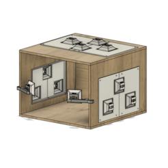 Download 3D printer templates Light box, 3dtech_