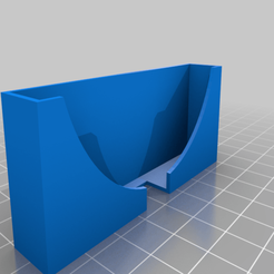 phonedock_20191230-62-1yvrqtk.png Download free STL file Customizer phone wall mount dock fitting Mi 9 (and Lite) with Case • 3D print design, arontaupe