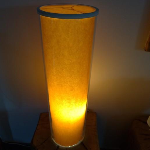 P_20200720_192703 - Copie.jpg Download free STL file Glass vase lamp • 3D printing design, CharlieChappie
