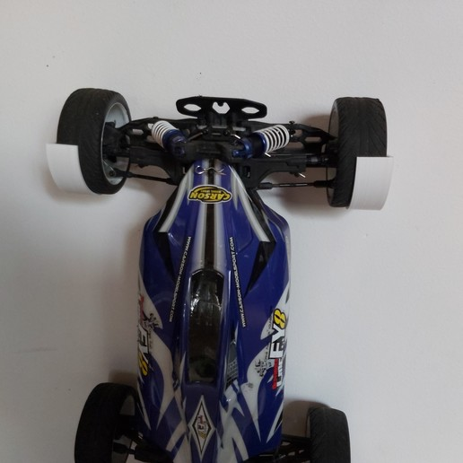 Download free 3D printing templates Rc Car wall mount, DB46