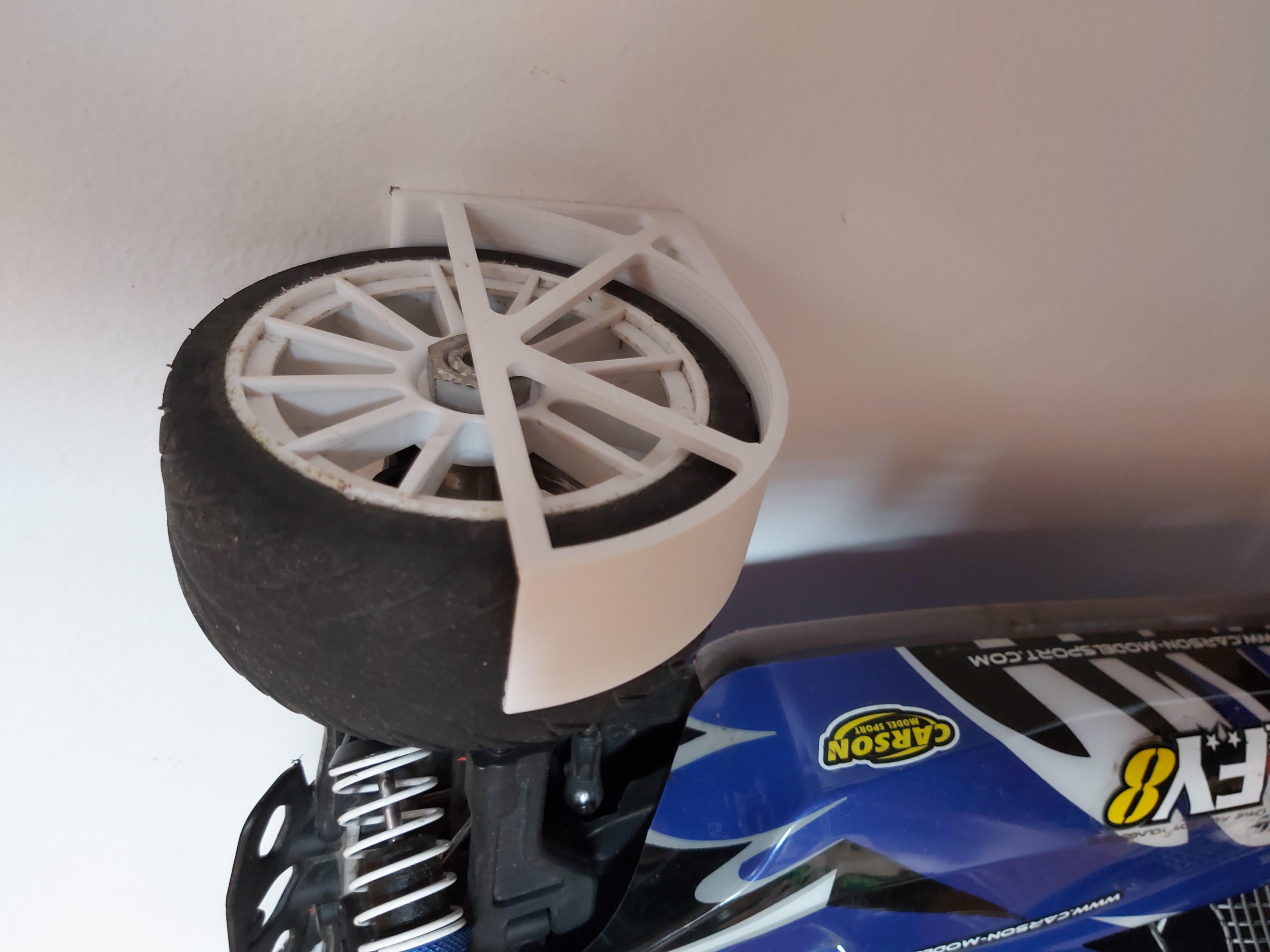 20200523_145807.jpg Download free STL file Rc Car wall mount • 3D print template, DB46