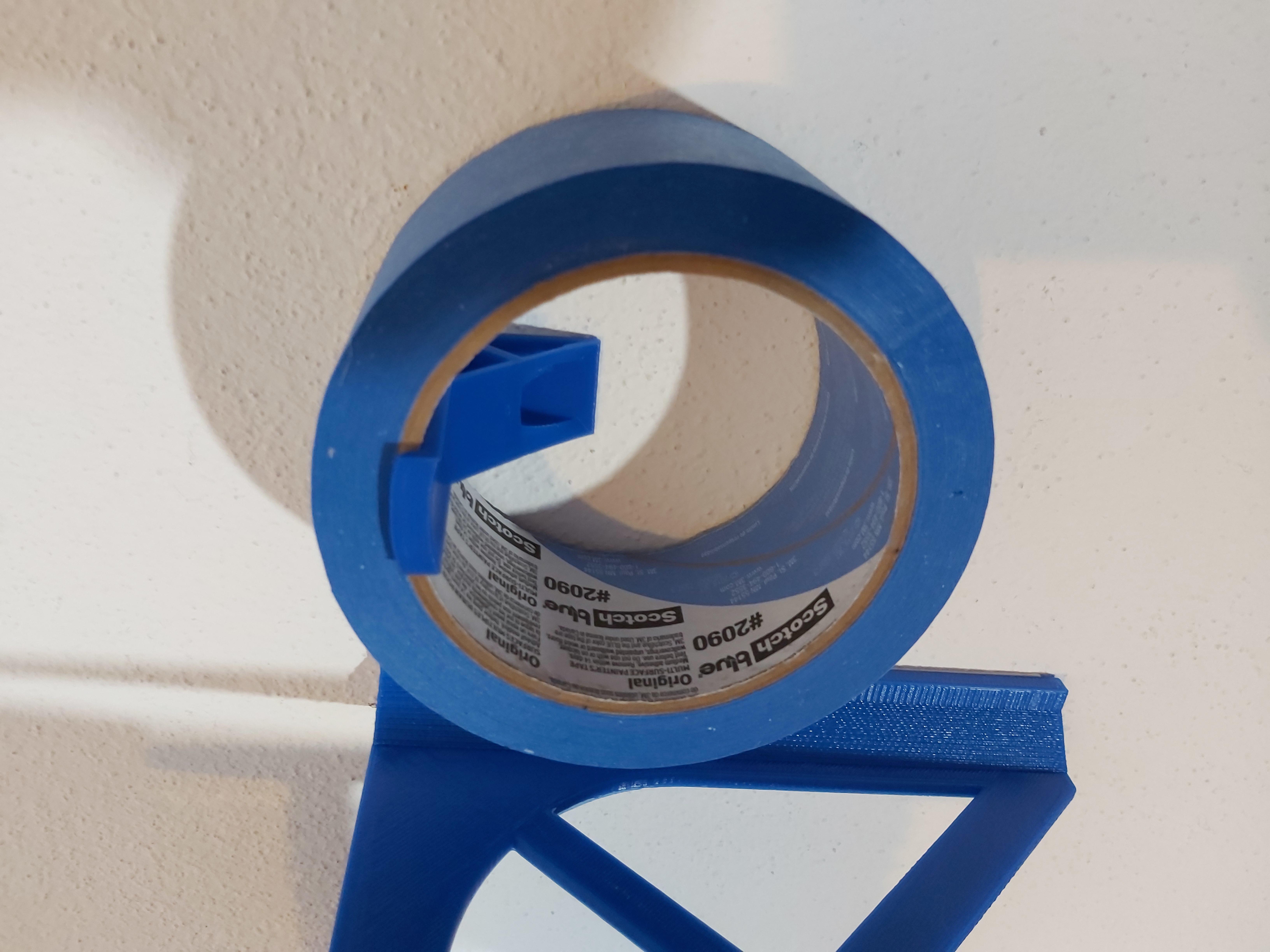 20200617_181315.jpg Download free STL file Tape wall mount • 3D printable template, DB46