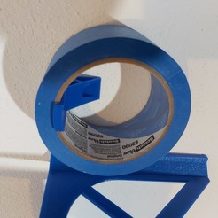 Download free 3D printer templates Tape wall mount, DB46
