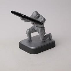 WhatsApp Image 2020-08-29 at 11.49.40.jpeg Download STL file Knight Pen Holder  • 3D printer design, gulermdeniz